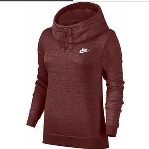 Nike cowl neck hoodie size medium